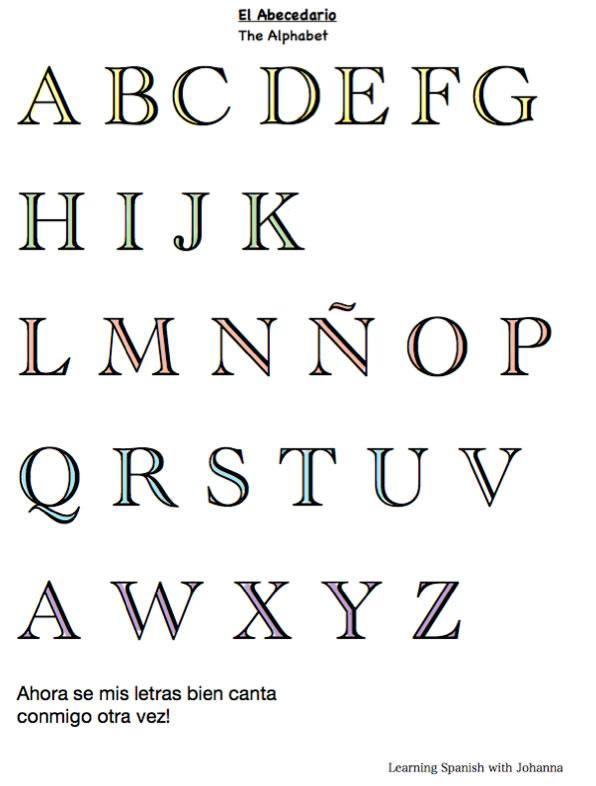 alphabet-vocabulary